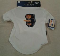 "Hunter Pet Gear NBA ""INDIANA PACERS"" sport t-shirt size Larg"