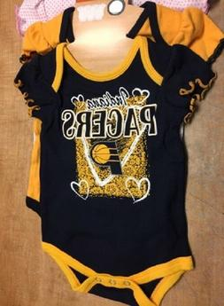 NBA Infant's Indiana Pacers 3-Pack Bodysuits 2187, CHECK FOR