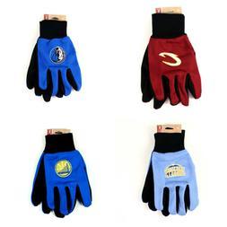 NBA Team Color Sport Utility Grip Gloves - Pick Your Team
