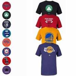 NBA Various Team Color Primary Logo Wordmark Graphic T-Shirt