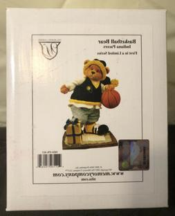 New in Box Memory Company Indiana Pacers Basketball Bear Fir