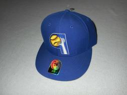 New Indiana Pacers 47 Brand Fitted Cap Hat Hardwood Classics