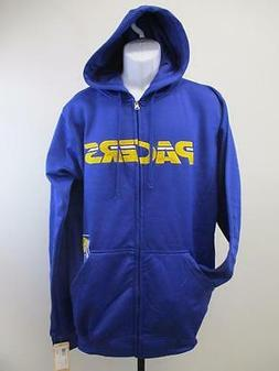 New Indiana Pacers Mens Adult Size M-L-XL-2XL-Tall Full Zip