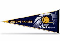 """New  Indiana Pacers  NBA Pennant 12""""x30"""" made in USA Banner"""