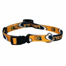 NEW INDIANA PACERS PET DOG ADJUSTABLE NYLON COLLAR ALL SIZES