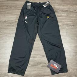 New Mens Nike NBA Indiana Pacers Training Athletic Pants Bla