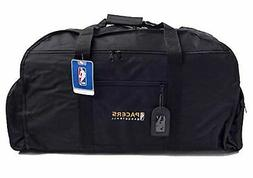 NEW - NBA Indiana  Black Sports Duffle W/Embroidered Team Lo