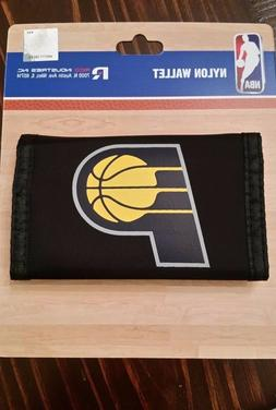 *NEW* NBA Indiana Pacers Black Nylon Wallet