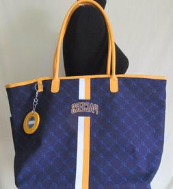 NEW Womens NBA Indiana Pacers Large Purse Tote Overnight Bas