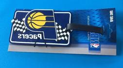 NWT Indiana Pacers NBA Bag Tag AminCo Luggage Tag Travel