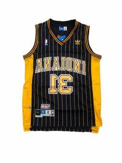 NWT Reggie Miller #31 Pacers Blue HWC Men's Adidas Basketbal