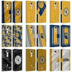OFFICIAL NBA INDIANA PACERS LEATHER BOOK WALLET CASE COVER F