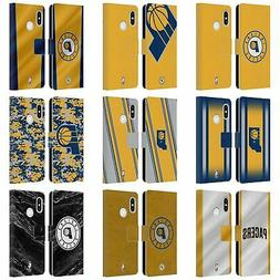 OFFICIAL NBA INDIANA PACERS LEATHER BOOK WALLET CASE FOR XIA