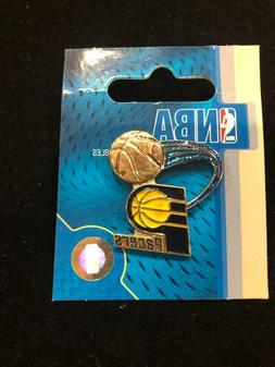 One NEW Indiana Pacers Glitter Trail Pin - Lapel - NBA Licen