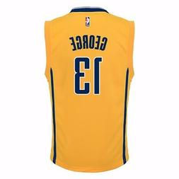 Paul George Indiana Pacers NBA Adidas Toddler Gold 2nd Alter