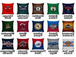 Pro Basketball Eastern Team Variety Logo Cotton Linen Cushio