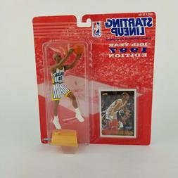 Reggie Miller Indiana Pacers Starting Lineup 1997 NBA Basket