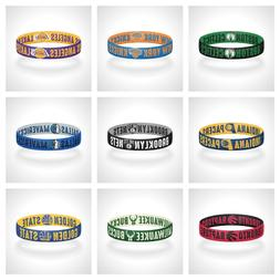 Reversible NBA Teams Bracelet Stretch Bracelet NBA Wristband
