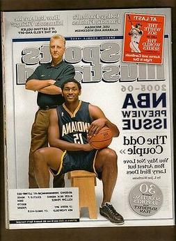 SPORTS ILLUSTRATED OCTOBER 24, 2005 LARRY BIRD RON ARTEST IN