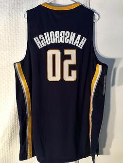 Adidas Swingman NBA Jersey INDIANA Pacers Tyler Hansbrough N