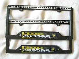 TWO  INDIANA PACERS LICENSE PLATE FRAMES #3 - NEW