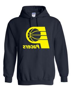 Vintage Indiana Pacers Hoodie Sweater Retro Logo, Brand New