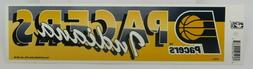 Vtg NBA Basketball INDIANA PACERS Sports Bumper Sticker Tag